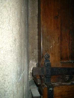 3. Church door.
